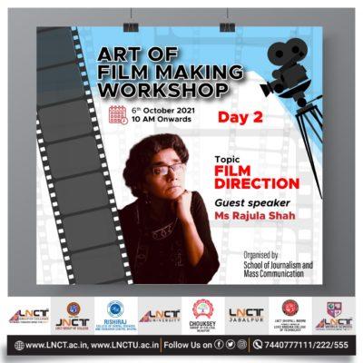 3 Days special workshop on Art of Film Making (4)