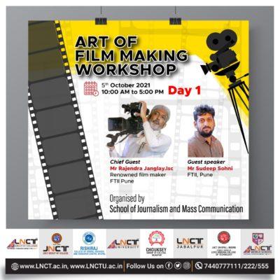 3 Days special workshop on Art of Film Making (6)
