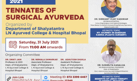AAYURSHALYAM 2021 – Tennates of Surgical Ayurveda