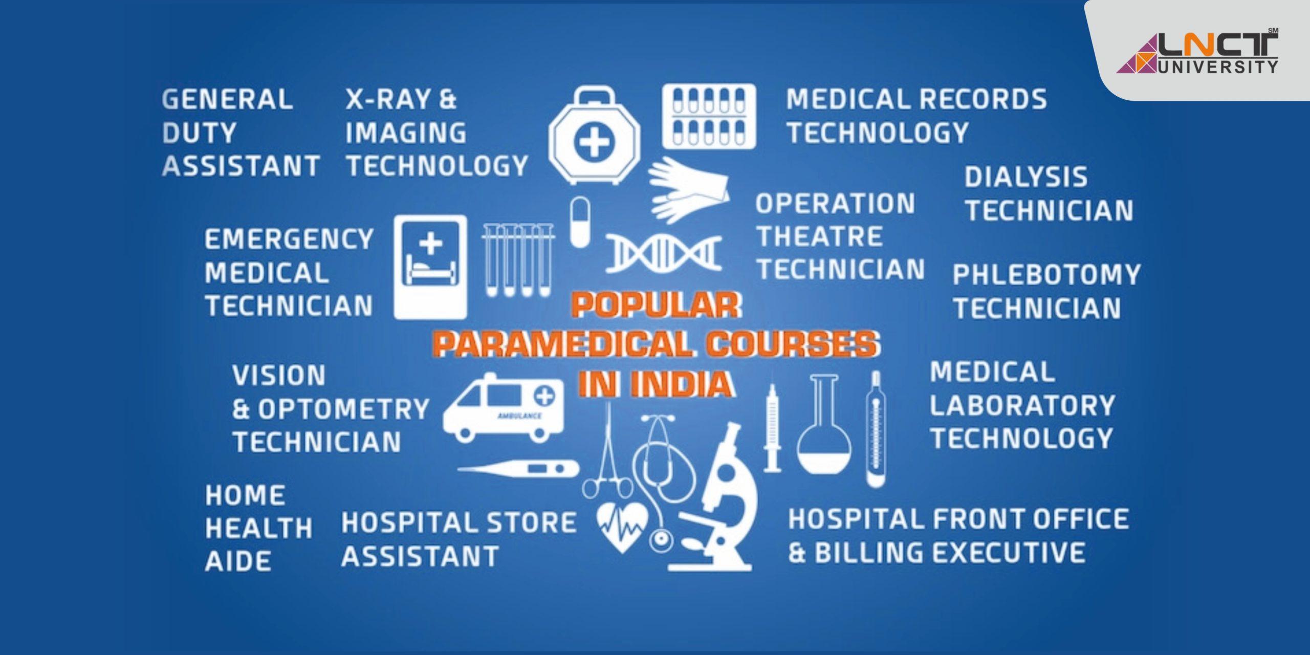 Paramedical College in Bhopal-2021