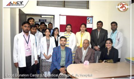 Blood Donation Camp | LN Medical College & JKHospital