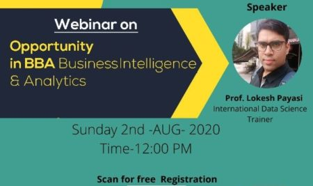 Webinar On BBA Business Intelligence and Analytics.