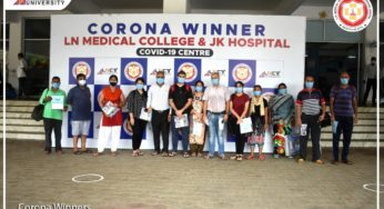 Corona winners say's about Doctors, Nurses, staff and facilities available at JK Hospital