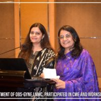 Department of OBS-Gyne-LNMC Participated in CME and Workshop (10)