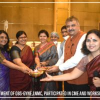 Department of OBS-Gyne-LNMC Participated in CME and Workshop (12)