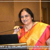 Department of OBS-Gyne-LNMC Participated in CME and Workshop (25)