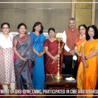 Department of OBS-Gyne-LNMC Participated in CME and Workshop (28)