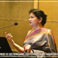 Department of OBS-Gyne-LNMC Participated in CME and Workshop (6)