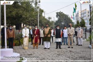 Flag hoisting ceremony on the occasion of Republic Day (2)