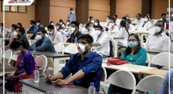 LN Medical college and JK Hospital organised Induction program for PG Student 2020