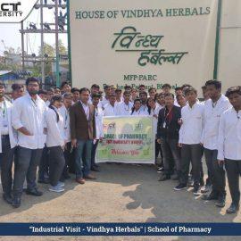 Industrial visit vindhya harbals