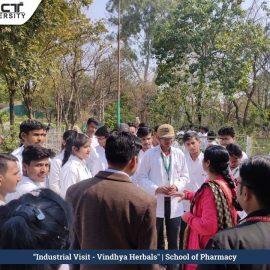 Industrial visit vindhya harbals3
