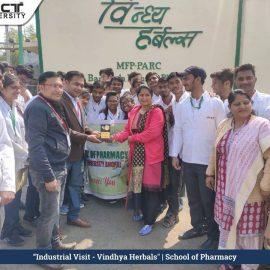 Industrial visit vindhya harbals5