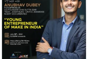 Interactive session with Anubhav Dubey