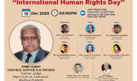 National Seminar on Human Rights on the Occasion of International Human Rights Day