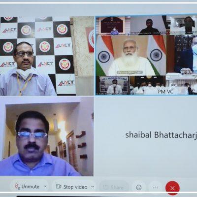 J K hospital Doctors participated in the interactive session with Prime Minister Shri Narendra Modi (2)
