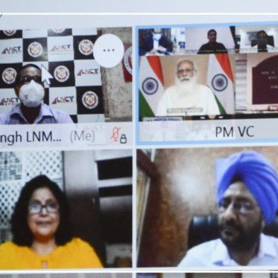 J K hospital Doctors participated in the interactive session with Prime Minister Shri Narendra Modi (4)