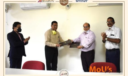 LNCT University and CRISP Bhopal on Wednesday signed a MoU