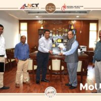 LNCT University and NLIU signed an MoU