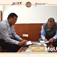LNCT University and NLIU signed an MoU1