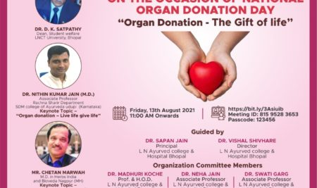 National Webinar on the Occasion of National Organ Donation