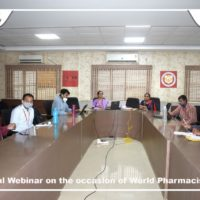 National Webinar on the occasion of World Pharmacists Day