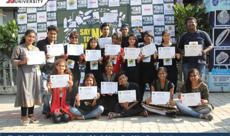 Say No to Plastic Awareness Campaign   School of Journalism & Mass Communication