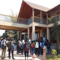 School of Architecture organised site visit to Resort at Bilkishganj (4)