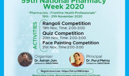 59th National Pharmacy Week 2020 (Pharmacists Frontline Health Professionals)