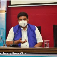 Shri Anupam Choksey (Secretary LNCT Group) participated in the program Arogya Manthan organized by Madhya Pradesh Press Club