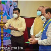 Shri Anupam Choksey (Secretary LNCT Group) participated in the program Arogya Manthan organized by Madhya Pradesh Press Club1