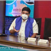 Shri Anupam Choksey (Secretary LNCT Group) participated in the program Arogya Manthan organized by Madhya Pradesh Press Club2