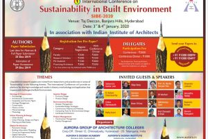 Sustainability in Built Environment