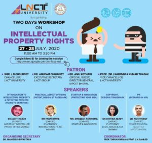 Two Days Workshop on Intellectual Property Rights