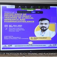 Webinar On Importance Of Profession Ready Training In Clinical Research And Pharmacovigilance (4)
