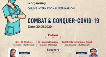 An International Webinar COMBAT CONQUER COVID19