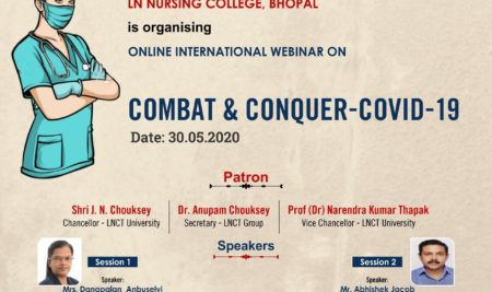 An International Webinar COMBAT CONQUER COVID19
